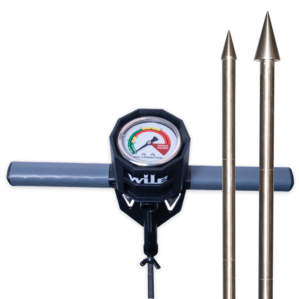 Wile penetrometri eli maantiiviysmittari on helppokäyttöinen, öljyvaimennettu mittari, jolla voidaan helposti määrittää maan tiivistyminen eri syvyyksillä.